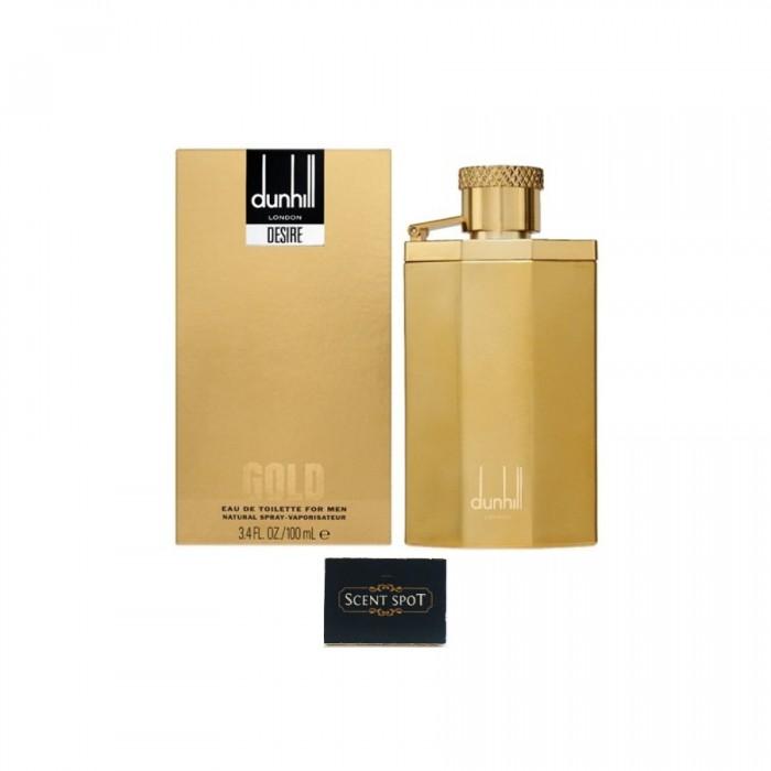 Desire Gold by Alfred Dunhill (New in Box) 100ml Eau De Toilette Spray (Men)