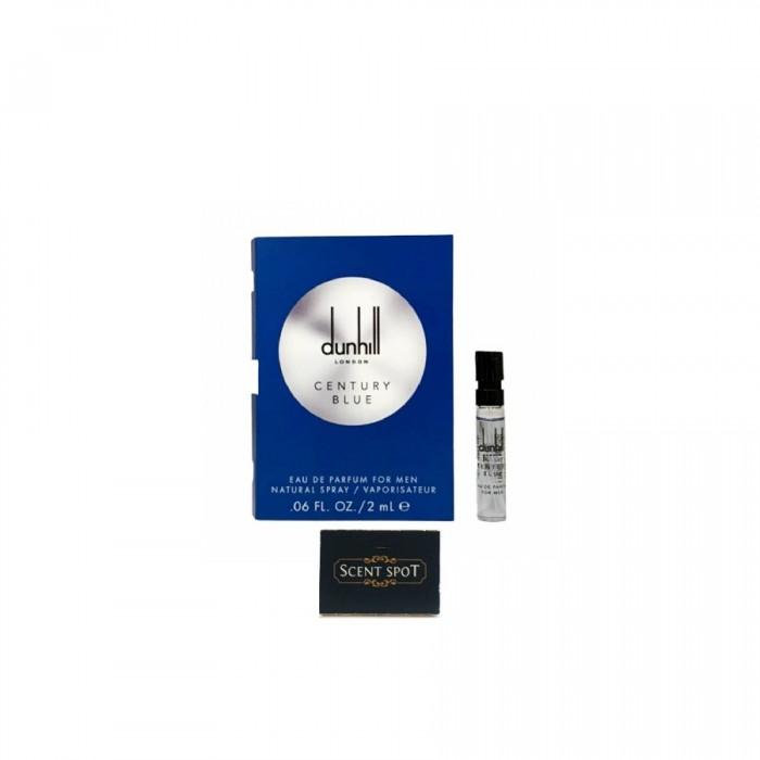 Century Blue by Alfred Dunhill (Vial / Sample) 2ml Eau De Parfum Spray (Men)
