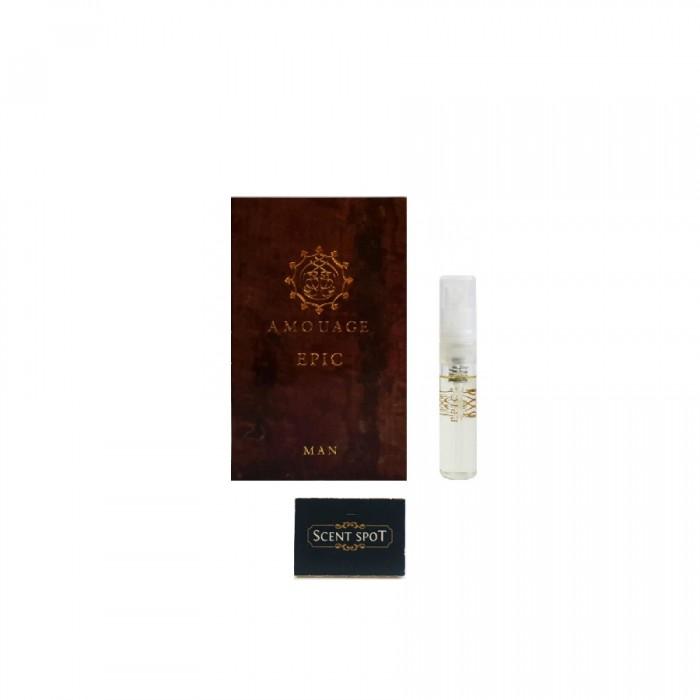Epic by Amouage (Vial / Sample) 2ml Eau De Parfum Spray (Men)