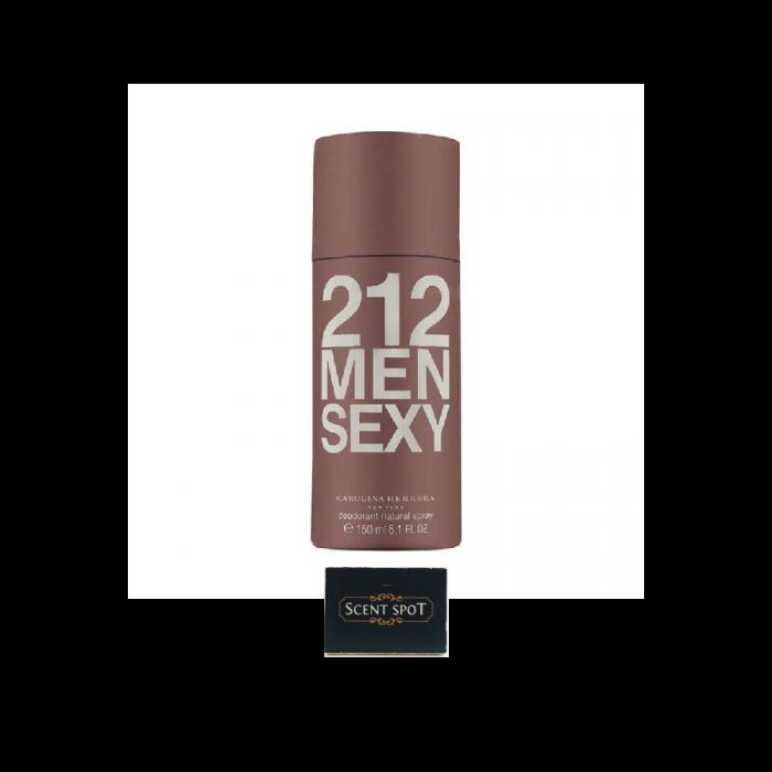 212 Sexy by Carolina Herrera (Deodorant) 150ml Spray (Men)