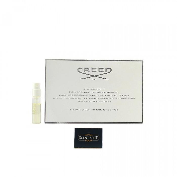 Silver Mountain Water by Creed (Vial / Sample) 2.5ml Eau De Parfum Spray (Unisex)