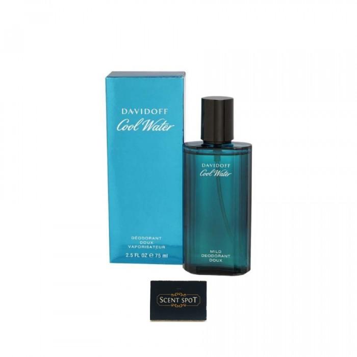 Cool Water by Davidoff (Deodorant) 75ml Spray (Men)