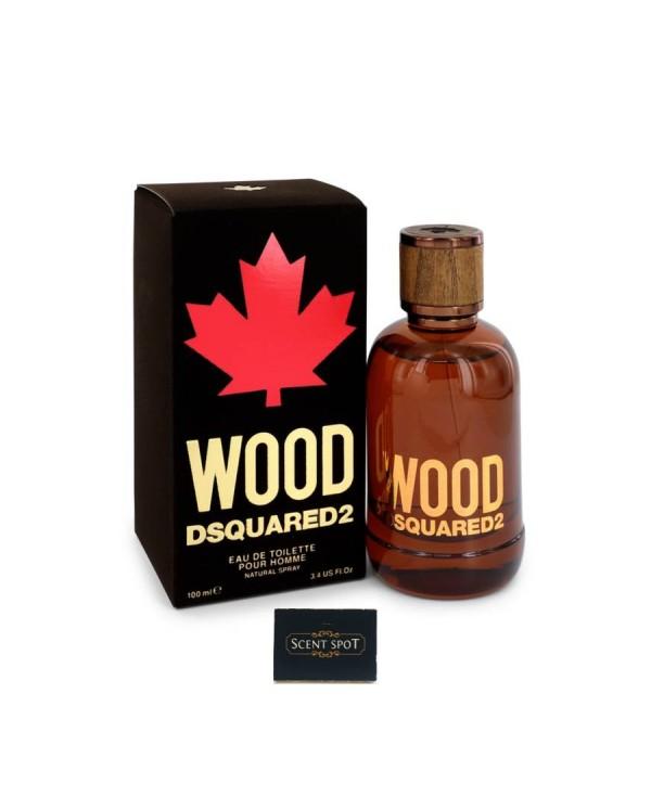 Wood Pour Homme by Dsquared2  (Tester) 100ml Eau De Toilette Spray (Men)
