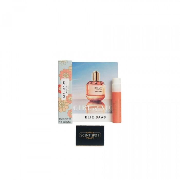 Girl Of Now Forever by Elie Saab (Vial / Sample) 1ml Eau De Parfum Spray (Women)