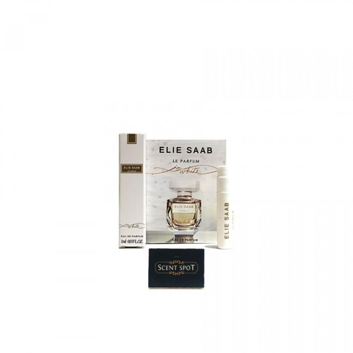 Le Parfum White by Elie Saab (Vial / Sample) 1ml Eau De Parfum Spray (Women)