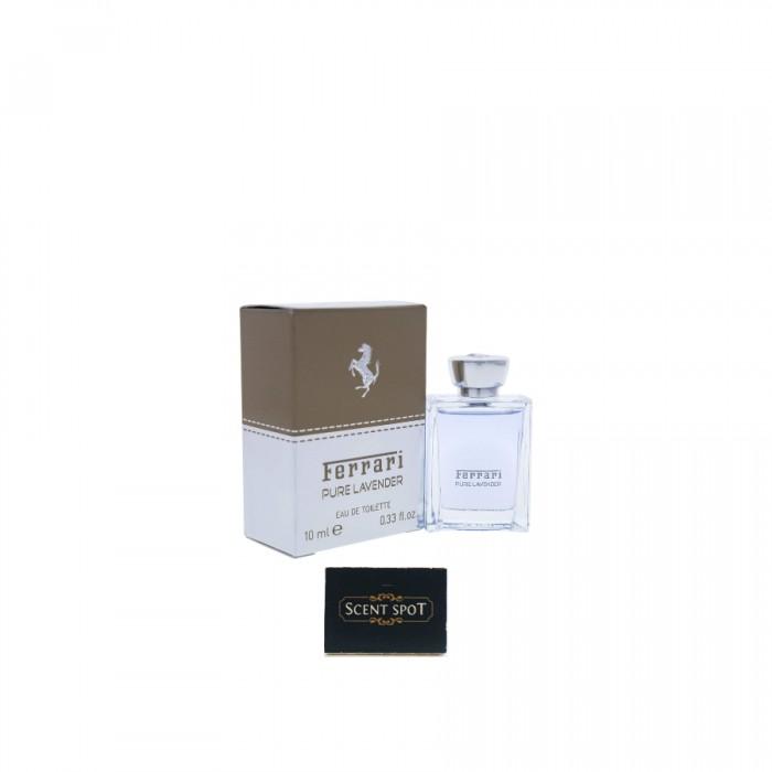 Pure Lavender by Ferrari (Miniature / Travel) 10ml Eau De Toilette Dab On (Unisex)