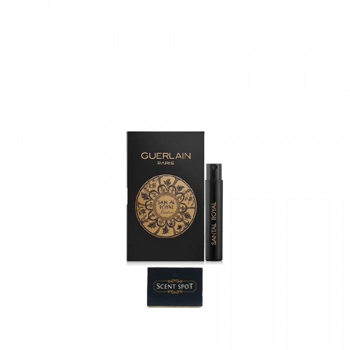 Les Absolus D'orient Santal Royal by Guerlain (Vial / Sample) 0.7ml Eau De Parfum Spray (Unisex)