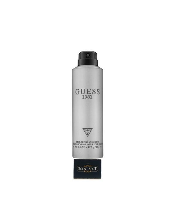 1981 by Guess (Body Spray) 226ml Spray (Men)