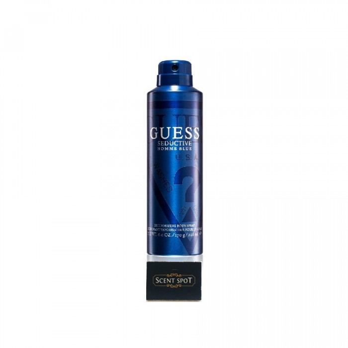 Seductive Blue by Guess (Body Spray) 226ml Spray (Men)