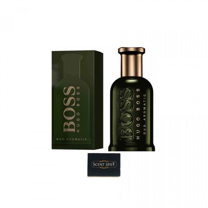 Bottled Oud Aromatic by Hugo Boss (New in Box) 100ml Eau De Parfum Spray (Men)
