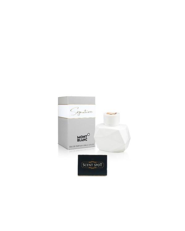 Signature by Mont Blanc (Miniature / Travel) 4.5ml Eau De Parfum Dab On (Women)