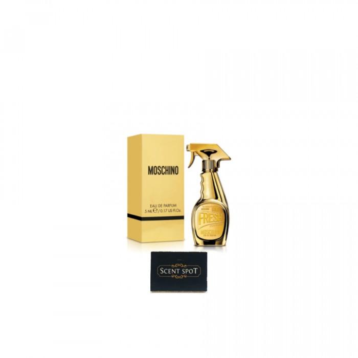 Fresh Couture Gold by Moschino (Miniature / Travel) 5ml Eau De Parfum Dab On (Women)