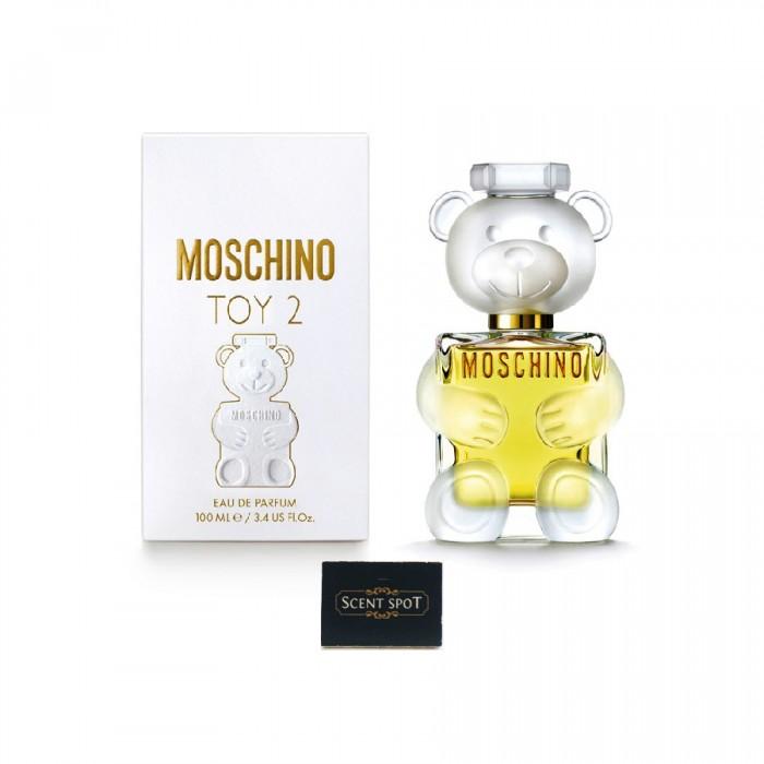 Toy 2 by Moschino (New in Box) 100ml Eau De Parfum Spray (Women)