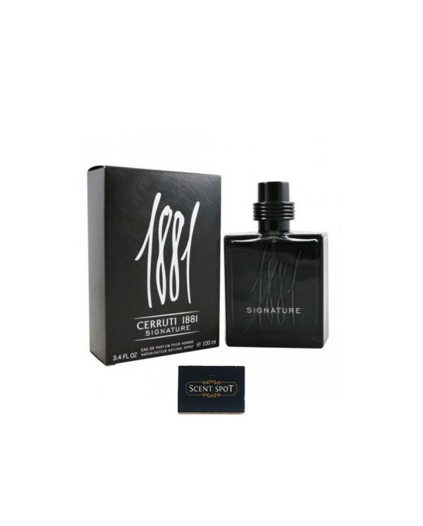 1881 Signature by Nino Cerruti (New in Box) 100ml Eau De Parfum Spray (Men)
