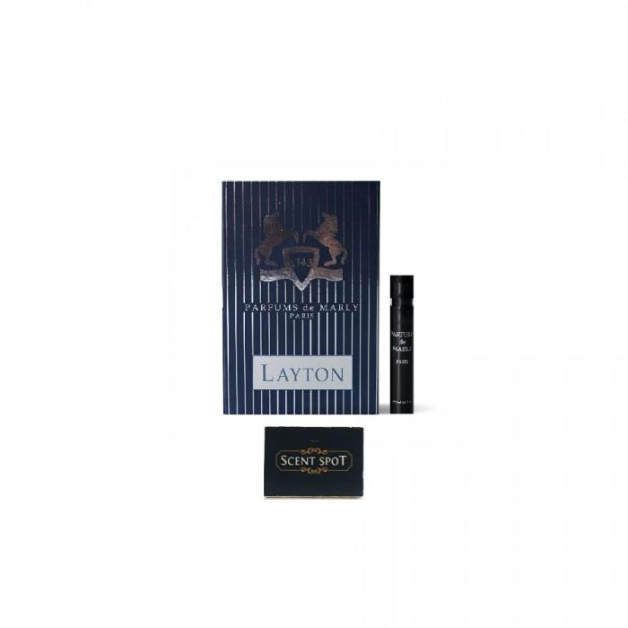 Layton by Parfums De Marly (Vial / Sample) 1.5ml Eau De Parfum Spray (Unisex)