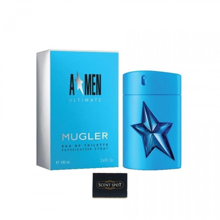 A*Men Ultimate by Thierry Mugler (New in Box) 100ml Eau De Toilette Spray (Men)