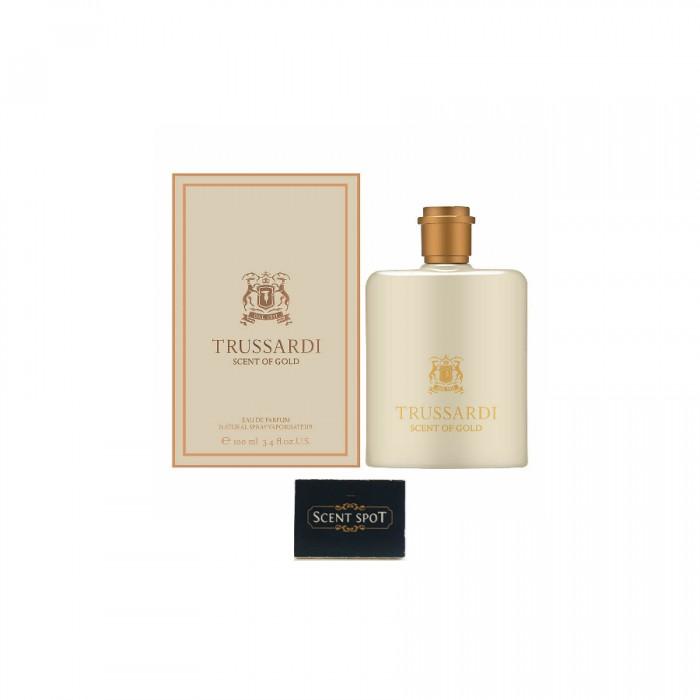 Scent Of Gold by Trussardi (New in Box) 100ml Eau De Parfum Spray (Unisex)
