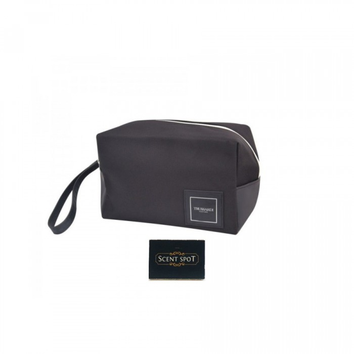 Groovy Man Beauty Toiletry Bag by Trussardi (Toiletry Bag) (Colour: Black - 22cm x 11.5cm x 15cm) (Men)