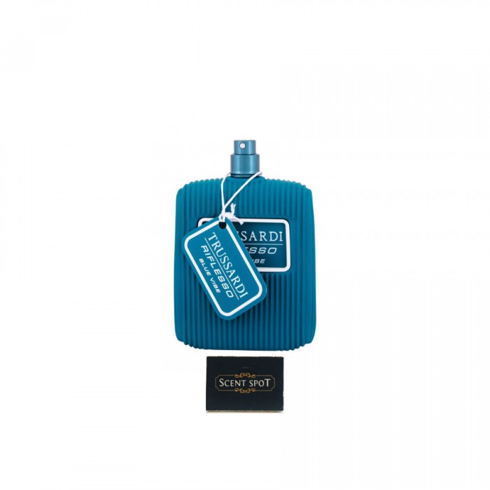 Riflesso Blue Vibe Limited Edition by Trussardi (Tester) 100ml Eau De Toilette Spray (Men)
