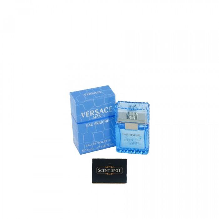 Eau Fraiche by Versace (Miniature / Travel) 5ml Eau De Toilette Dab On (Men)