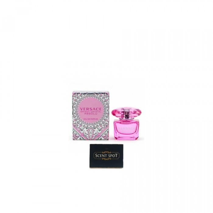 Bright Crystal Absolu by Versace (Miniature / Travel) 5ml Eau De Parfum Dab On (Women)
