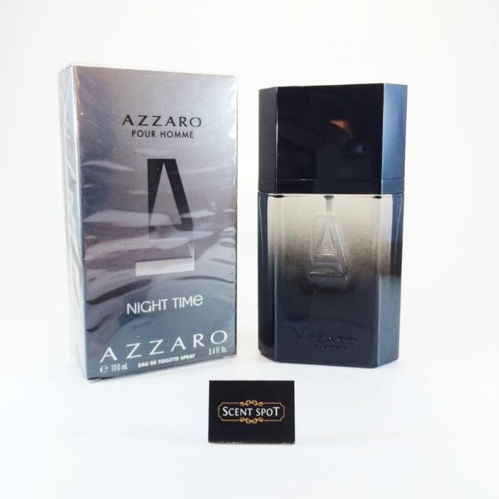 Night Time by Azzaro (New in Box) 100ml Eau De Toilette Spray (Men)