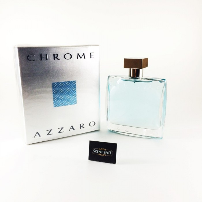 Chrome by Azzaro (New in Box) 100ml Eau De Toilette Spray (Men)
