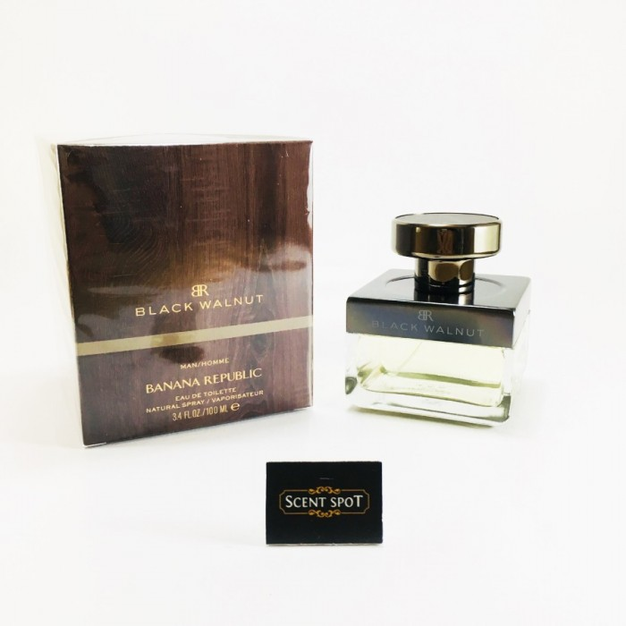 Black Walnut by Banana Republic (New in Box) 100ml Eau De Toilette Spray (Men)