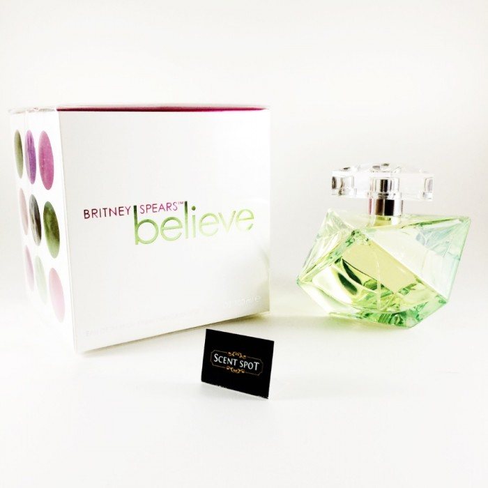 Believe by Britney Spears (New in Box) 100ml Eau De Parfum Spray (Women)