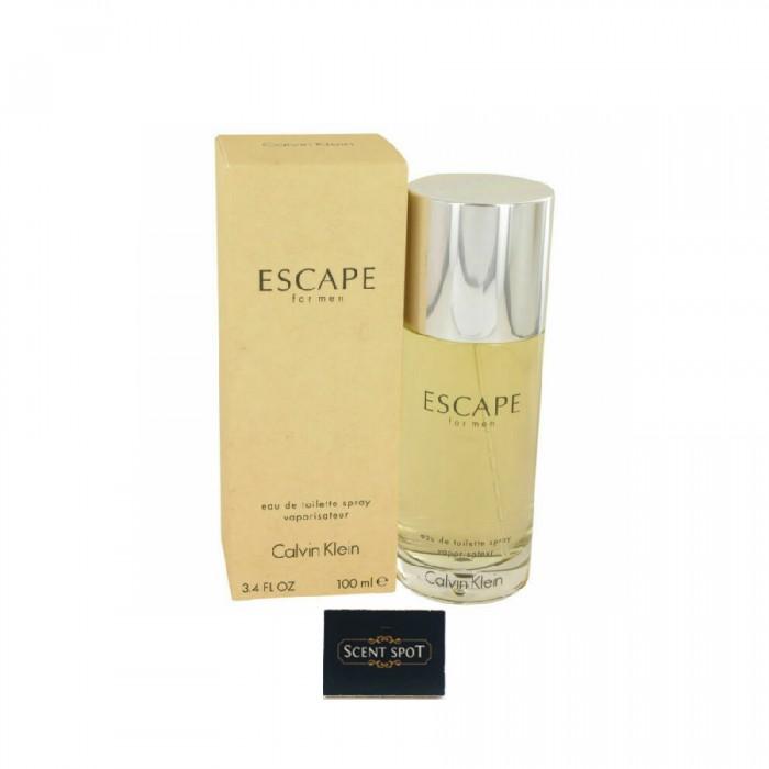 Escape by Calvin Klein (New in Box) 100ml Eau De Toilette Spray (Men)
