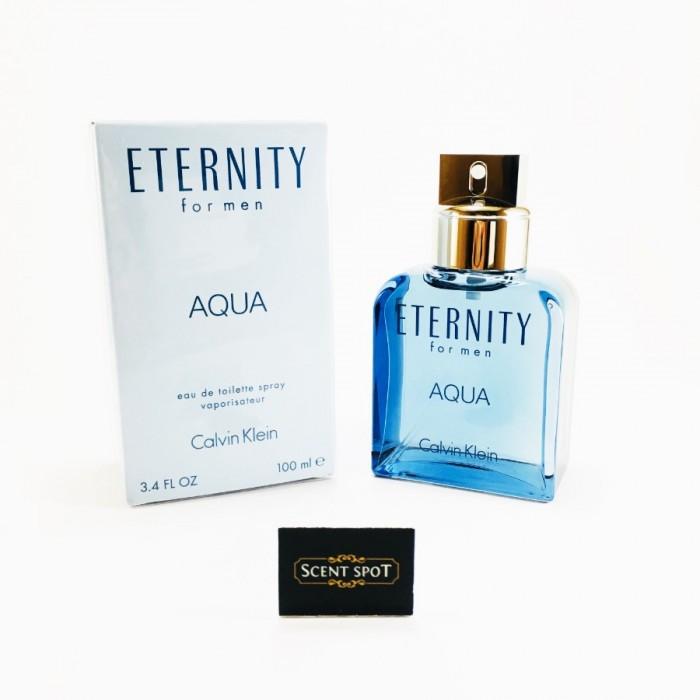 Eternity Aqua by Calvin Klein (New in Box) 100ml Eau De Toilette Spray (Men)