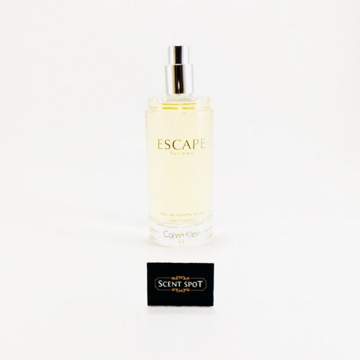 Escape by Calvin Klein (Tester) 100ml Eau De Toilette Spray (Men)