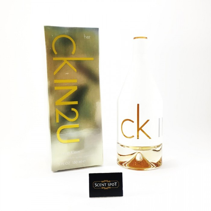 CK IN 2 U by Calvin Klein (New in Box) 150ml Eau De Toilette Spray (Unisex)