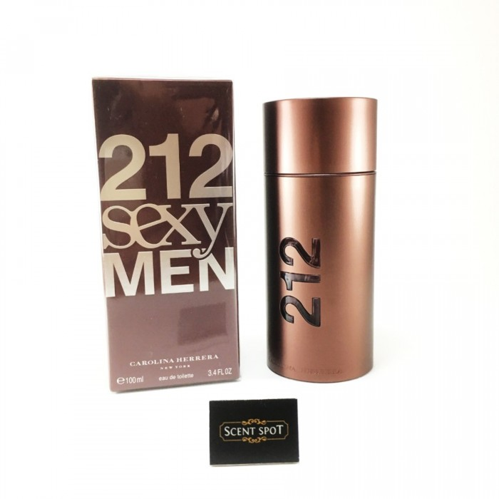 212 Sexy by Carolina Herrera (New in Box) 100ml Eau De Toilette Spray (Men)