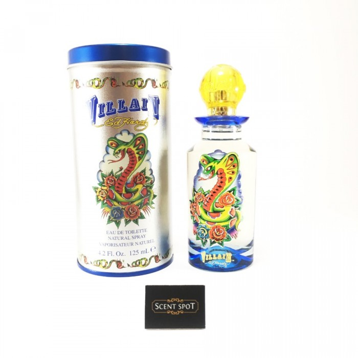 Ed Hardy Villain by Christian Audigier (New in Box) 125ml Eau De Toilette Spray (Men)