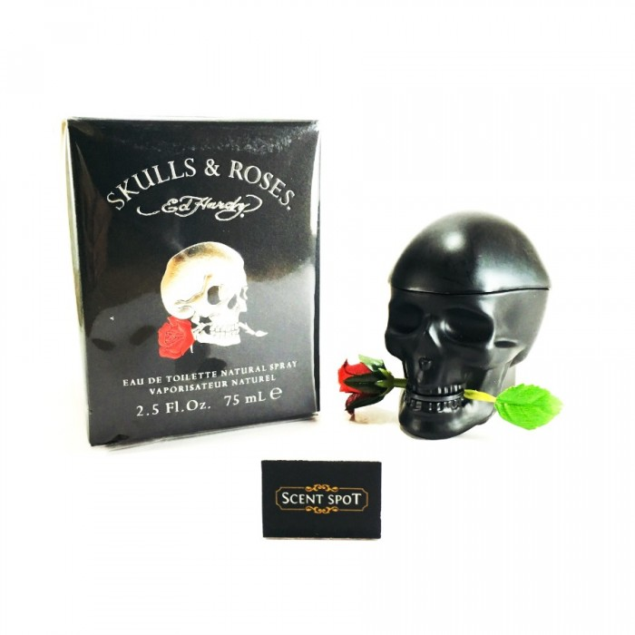 Skulls & Roses by Christian Audigier (New in Box) 75ml Eau De Toilette Spray (Men)