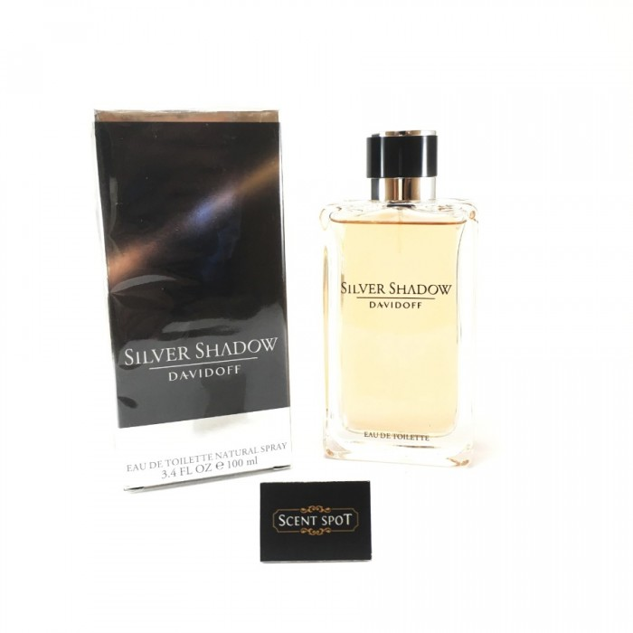 Silver Shadow by Davidoff (New in Box) 100ml Eau De Toilette Spray (Men)