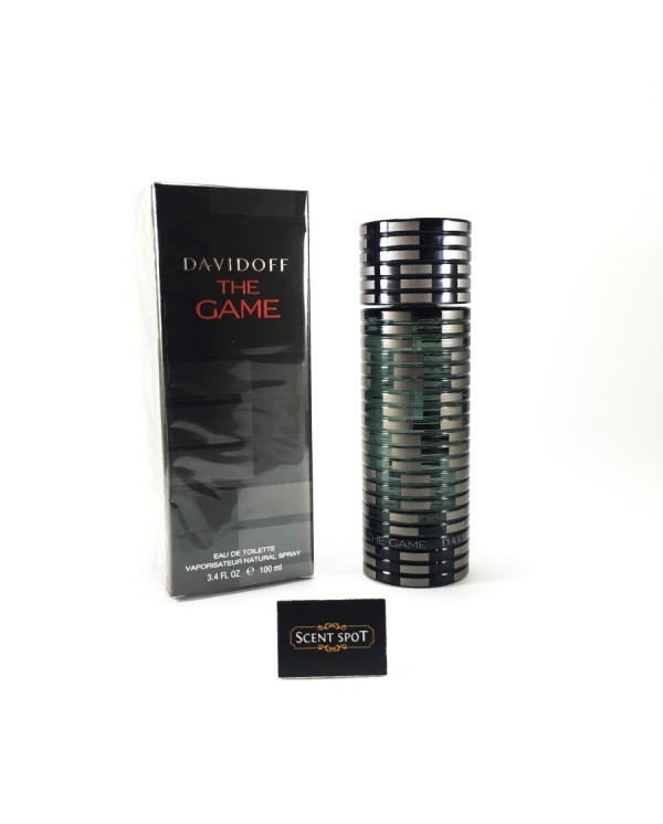 The Game by Davidoff (New in Box) 100ml Eau De Toilette Spray (Men)