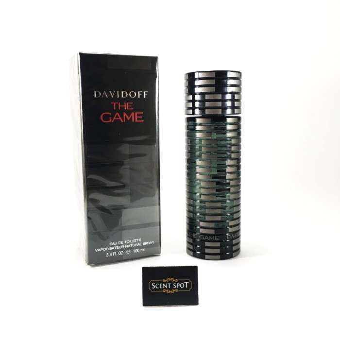The Game by Davidoff (New in Box) 100ml Eau De Toilette Spray (Men)