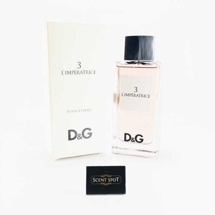 L'imperatrice 3 by Dolce & Gabbana (New in Box) 100ml Eau De Toilette Spray (Women)