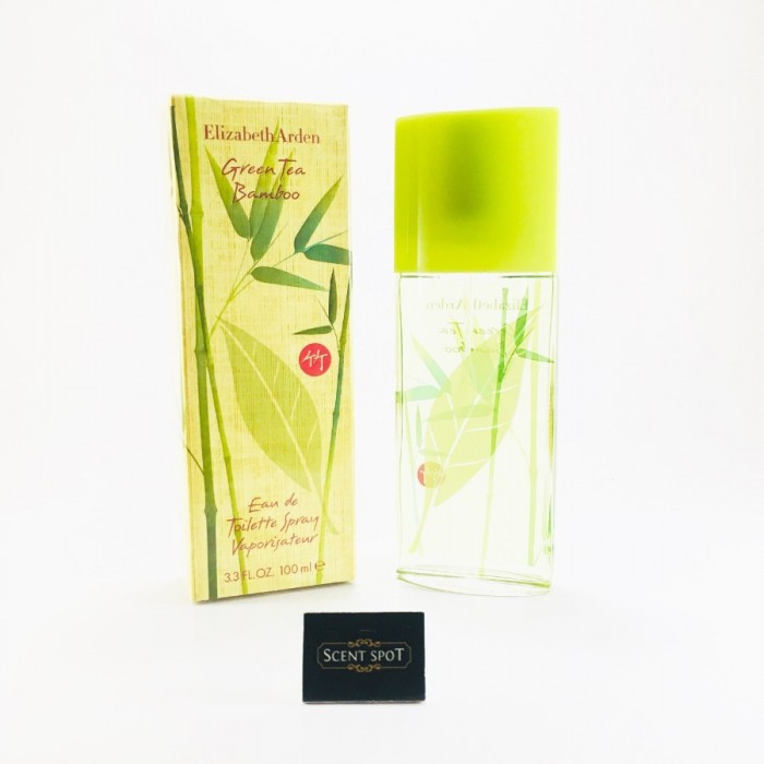Green Tea Bamboo by Elizabeth Arden (New in Box) 100ml Eau De Toilette Spray (Women)