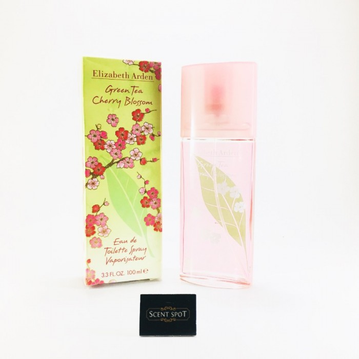 Green Tea Cherry Blossom by Elizabeth Arden (New in Box) 100ml Eau De Toilette Spray (Women)