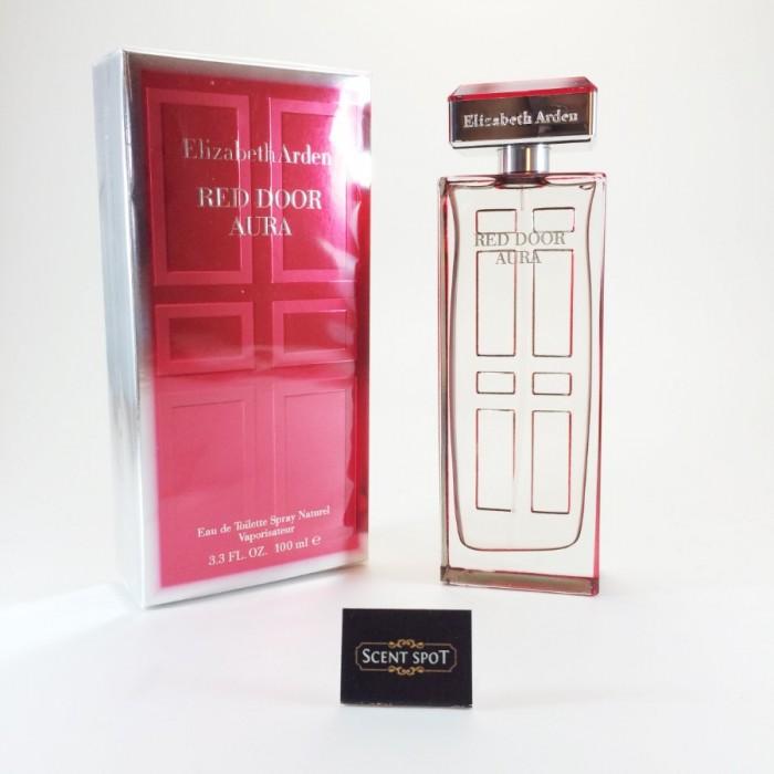 Red Door Aura by Elizabeth Arden (New in Box) 100ml Eau De Toilette Spray (Women)