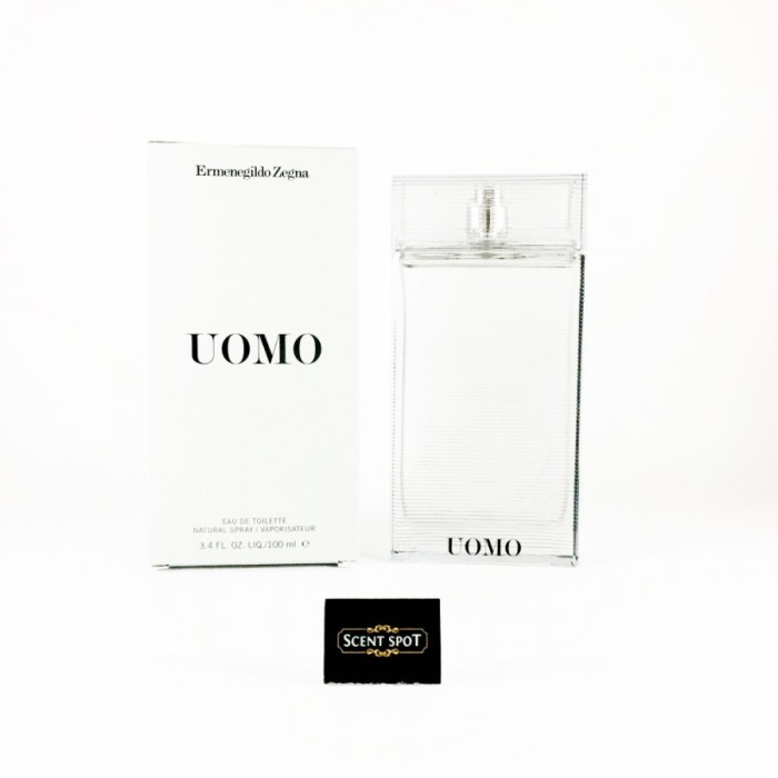 Uomo by Ermenegildo Zegna (New in Box) 100ml Eau De Toilette Spray (Men)
