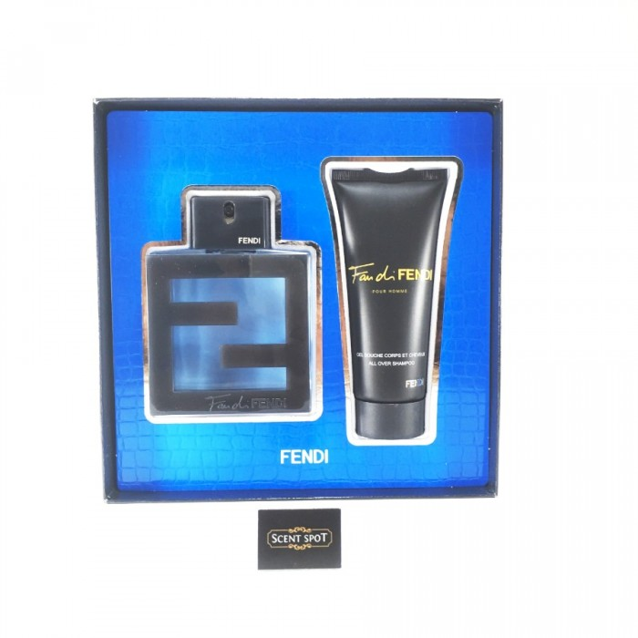 Fan Di Fendi Acqua by Fendi (Gift Set) - 100ml Eau De Toilette Spray + 100ml All Over Shampoo (Men)