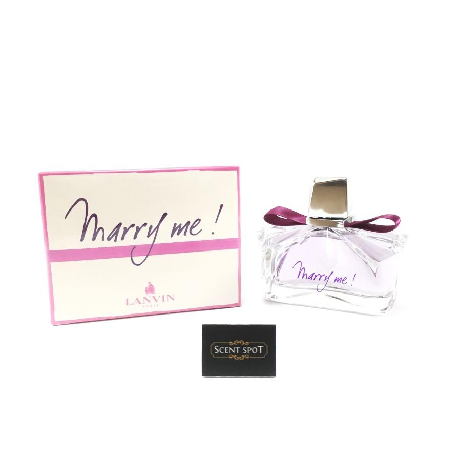 Marry Me by Lanvin (New in Box) 75ml Eau De Parfum Spray (Women)