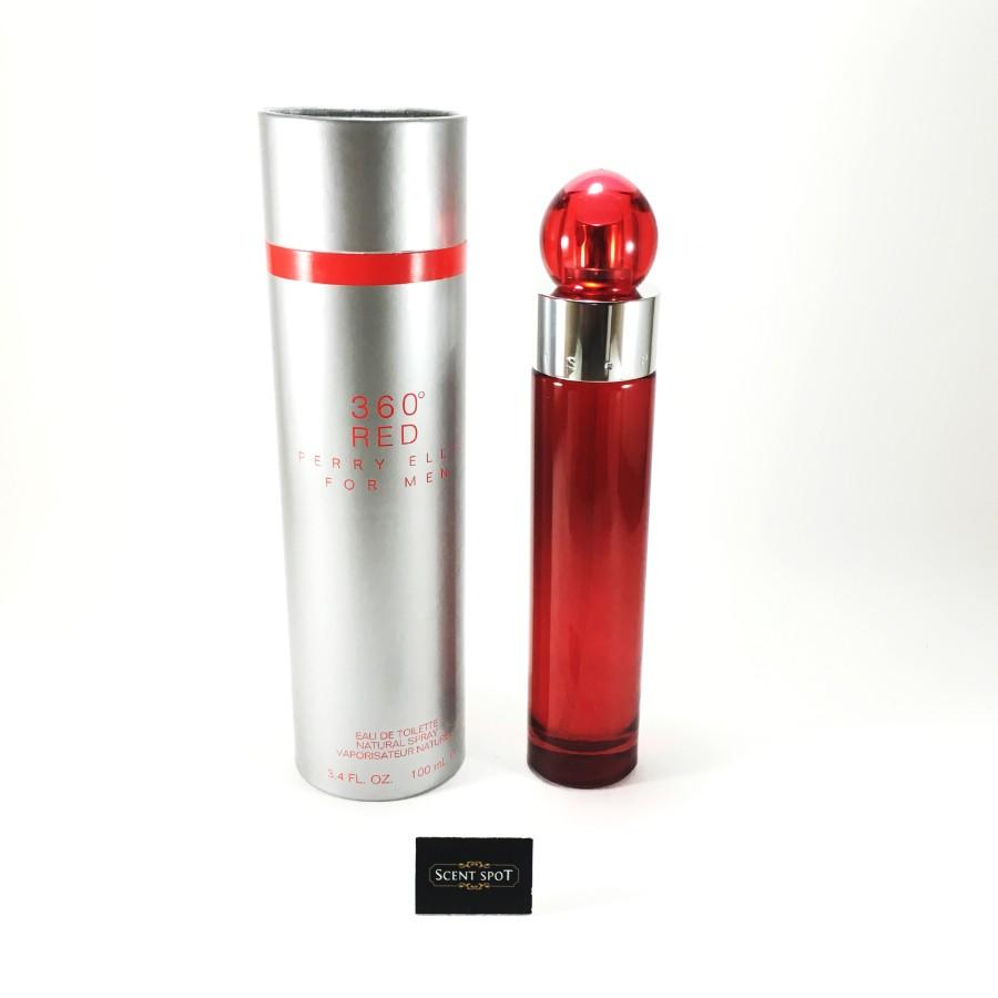 360 Red by Perry Ellis (New in Box) 100ml Eau De Toilette Spray