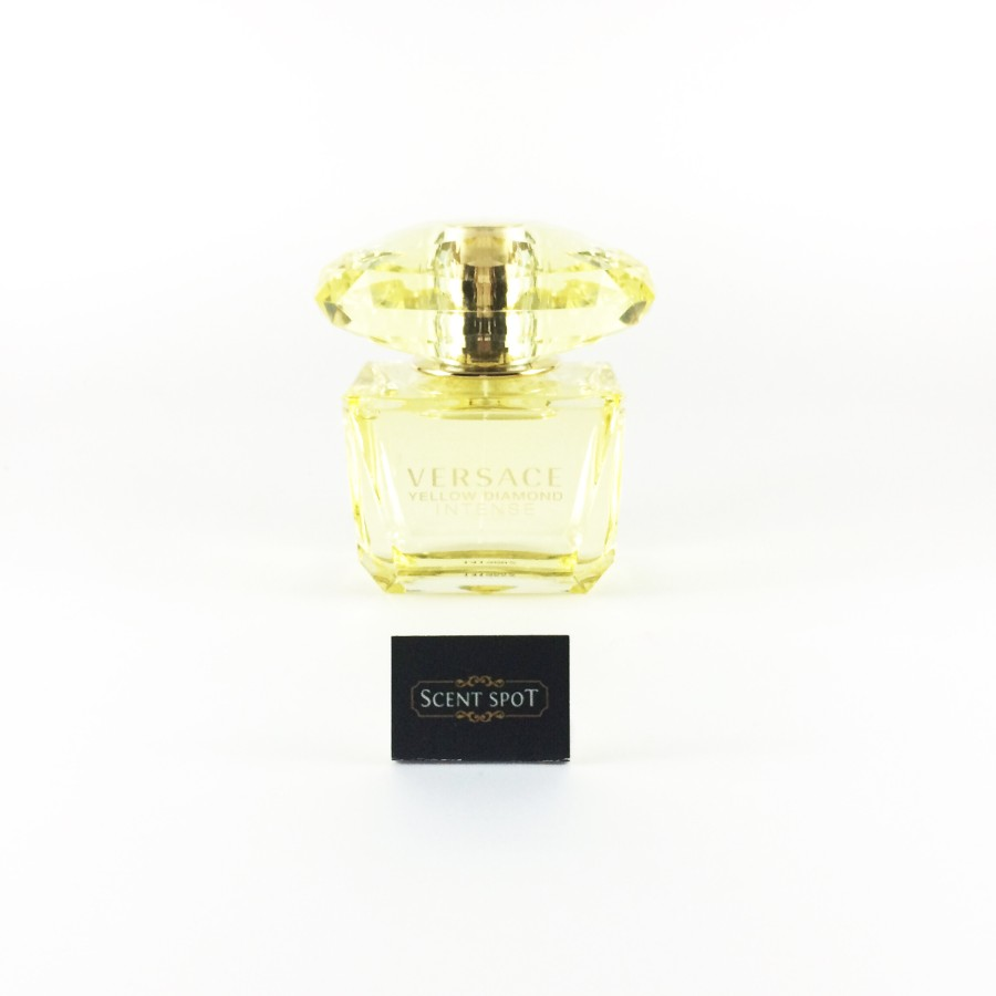 Yellow Diamond Intense With Cap By Versace Tester 90ml Eau De