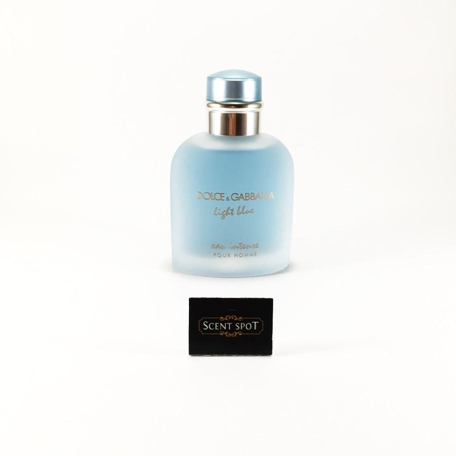 4716a86517db Light Blue Eau Intense by Dolce & Gabbana (Tester) 100ml Eau De Parfum Spray  (Men)